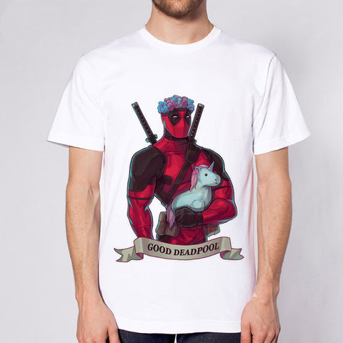 deadpool t shirt fashion dead pool anime t-shirt men tshirt clothing male S-3XL white top Tees 78DREAZM Design Store 1