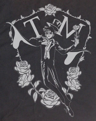 Tuxedo Mask Sailor Moon Sailormoon T Shirt Custom Drawn Designed T-shirt tee Tshirt - Animetee - 2