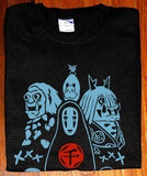 Spirited Away Various Characters NO Face T-shirt tee Tshirt - Animetee - 1