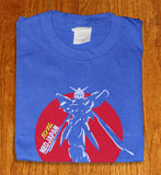 Neo Japan Mobile Suit Gundam Blue Anime Manga T-shirt tee Tshirt - Animetee - 1