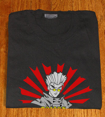 Japan Land of Rising Sun Vash Stampede Trigun T-shirt tee Tshirt - Animetee - 1
