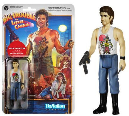 Jack Burton Funko ReAction Figure Big Trouble in Little China - Animetee
