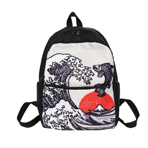 japan style men nylon bagpack schoolbag ladies rucksack students backpack fashionable mens school bags for girls mochilla mujer Michael Traveling Goods Co., Ltd. 1
