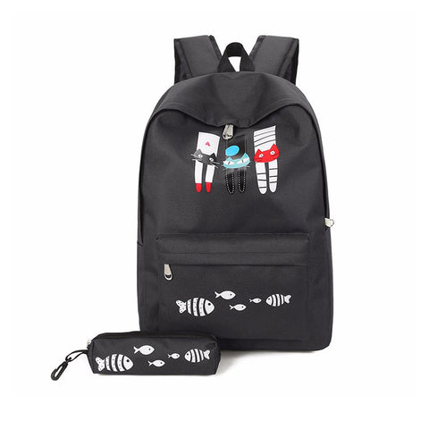 japan style oxford book bag for girl print rucksack backpack designer kids school bags woman anime backpacks women shoulder bag Michael Traveling Goods Co., Ltd. 1