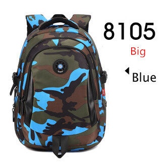 31e94595c2 new 2018 children school bags for boys rucksack camouflage backpack kids  waterproof bag bookbag men travel
