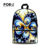 Flower Print School Bags For Girls Designer Teenage Floral Schoolbag Casual Children Bookbag Women Backbag - Animetee - 19
