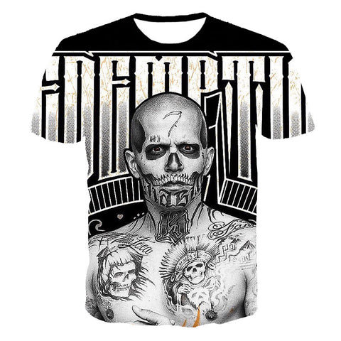 Suicide squad Villain shirt tee t-shirt 80's hwd celebs - Animetee