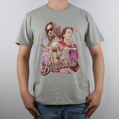 Big Lebowski Collage Tshirt shirt tee hwd - Animetee