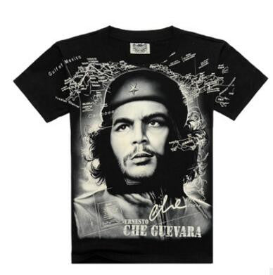 Black and white CHe Guevara shirt tee t-shirt - Animetee