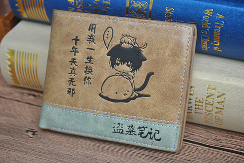 Anime manga Wallet With Coin Pocket Zipper Pouch - Animetee