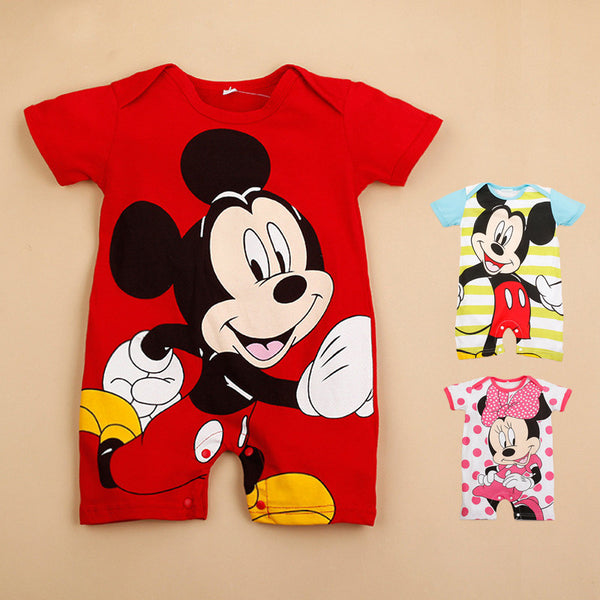 dde42a926ca66 Baby Boys Rompers Short Sleeve Infant Jumpsuits Summer Baby Girls Clot –  2018 AT 142 30 (Animetee.com Friends)