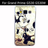 2876Qua Uz241054 Mickey Mouse And Minnie Style White Hard Back Cover for Samsung Galaxy A3 A5 A7 A8 E5 7 J5 J7 Grand 2 & Prime - Animetee - 7