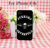 Avenged Of Sevenfold Hard White Cover Case for iPhone 4 4s 5 5s 5c 6 6s Protect Phone Cases msc - Animetee - 6