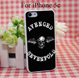 Avenged Of Sevenfold Hard White Cover Case for iPhone 4 4s 5 5s 5c 6 6s Protect Phone Cases msc - Animetee - 5