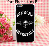 Avenged Of Sevenfold Hard White Cover Case for iPhone 4 4s 5 5s 5c 6 6s Protect Phone Cases msc - Animetee - 4