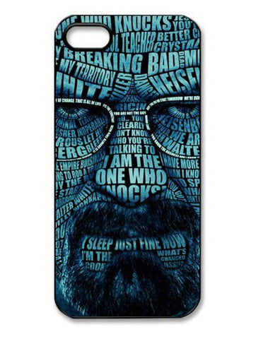 Breaking Bad Tattoo head Portrait Durable Hard Case Cover for iphone 4/4s/5/5s/5c/6/6s/6plus/6s plus TVI - Animetee - 1