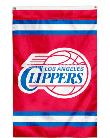 Basketball LA Clippers Outdoor Flag 3FTX 5FT Custom Team Banner Fan Flag