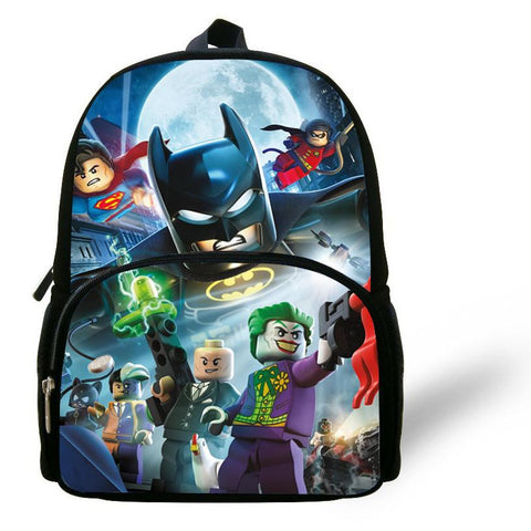 12-inch Mochial Batman Bag Indiana Jones Iron Man Star Wars Backpack Kids Bags Boys Shoulder Bag Children School Backpack