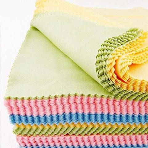 100pcs/lot 13x13cm Cleaning cloth glasses mobile phone wiping cloth with microfiber utility Sunglasses cloth 3.5g/pcs wholesale