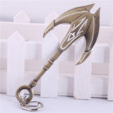 2015 New League of Legends the Titan of the Depths Nautilus Tomahawk LOL Weapon Model Keychain Keyring - Animetee - 1
