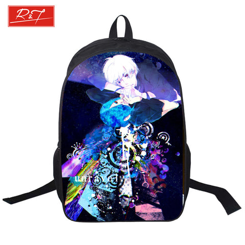 2016 student school Backpacks Tokyo Ghoul Bag Children Fashion School Bags Japanese Anime Boys Cartoon shopping bag for Teenager - Animetee - 1