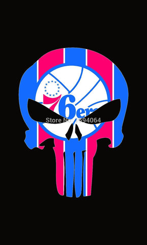 Philadelphia 76ers Flag 3X5FT with 2 metal grommets