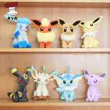 "Pokemon Plush Toys 7"" Sitting Umbreon Eevee Espeon Jolteon Vaporeon Flareon Glaceon Leafeon Plush Doll Kids Toys For Children - Animetee - 1"