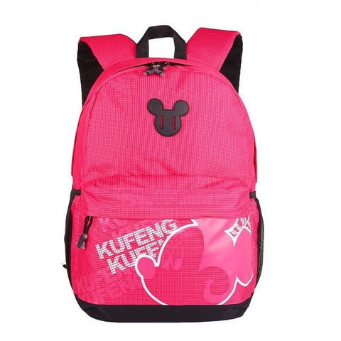 8e78174d7b6 ... New kids Mickey Minnie Mouse Backpack Children School Bag New Toddler  Cartoon Backpacks Bag Mochila For ...