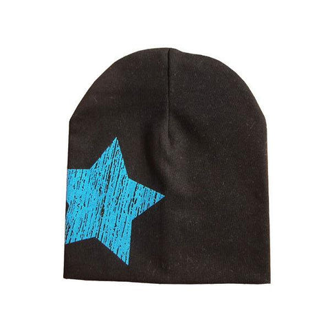 c69b4a631c4 Five-pointed star autumn baby cap knitted warm cotton beanie hat for t –  2018 AT 142 30 (Animetee.com Friends)