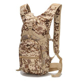 3P Camouflage Hydration Pack Multifunction Package 15L Mountaineering Bags Military Tacticas Backpack Travel Rucksack W24