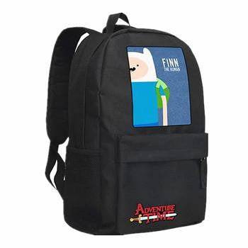 Adventure Time Backpack Canvas Bag Finn and Jake School Bags for Boys Girls Casual backpacks Knapsack