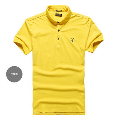 All Size Casual Polo Shirt Men Solid Polo Shirt Brands Saints Men