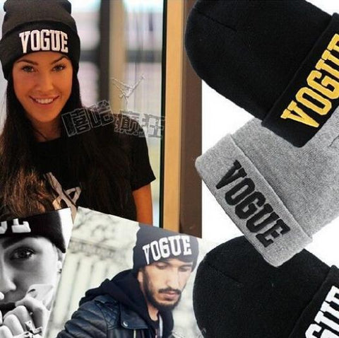 Fashion Beanie 2017 Brand Vogue New Sport Winter Hat Hip Hop Men Cap