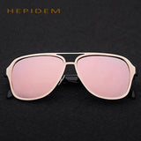 HEPIDEM 2017 Hot sale Men Luxury Brand Designer Sunglasses Women Wrap Big Oversized Shades Sun Glasses for Men Accessories