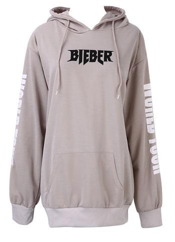 New 2017 Rare Sold Out Hoodie Western Style For Justin Bieber Purpose Tour Sand