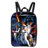 2016 New Style 12-Inch Star Wars Vintage Girl Backpacks for Teenagers Printing Boy Backpack Mochila Casual Bag School Backpack