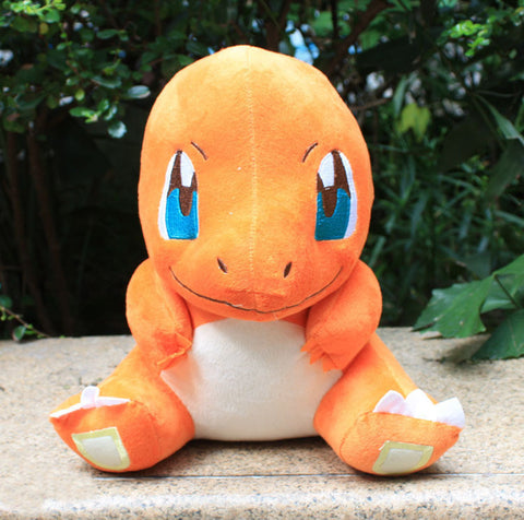 30cm Japanese Cartoon Pokemon Charmander Plush Doll Toy Red Dragon Plush Toys Stuffed Dolls For Xmas Gifts Free Shipping - Animetee