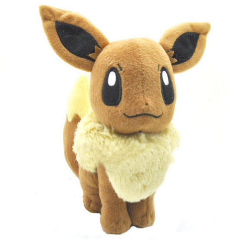 "Details about New EEVEE 7.5"" Pokemon Rare Soft Plush Toy Doll - Animetee"