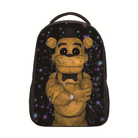 e306239b7c 2017 Hot Cartoon Five Nights At Freddy Backpacks For Teenage Girls Boys  17Inch Children Travel Bag ...
