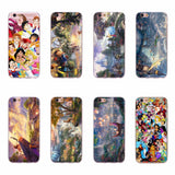Beauty and Beast thomas kinkade phone case design Lion King collage Apple iPhone 6 6S 5 5S SE 7 Plus Fundas Covers SQ12017