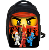 13 Inch Lego Ninja Batman School Bags for Kindergarten Children kids School Backpack for Girls Boys Children's Backpacks Mochila