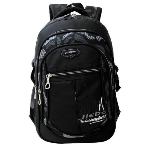 2014 New High-Quality Nylon School Bag Primary And Middle School Student Backpack Boy Double Shoulder Bookbag Mochila Infantil