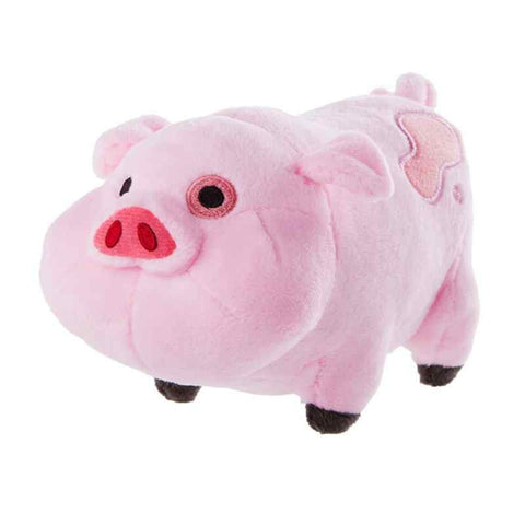 16cm 1pcs Gravity Falls Pink Pig Waddles Plush Toy - Animetee