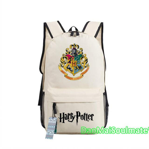 ... Harry Potter Boy School Bag Anime Backpacks Children Book Shoulder Bags  Teenage Rucksack Students Girl Backpack ... 809be2c54c812