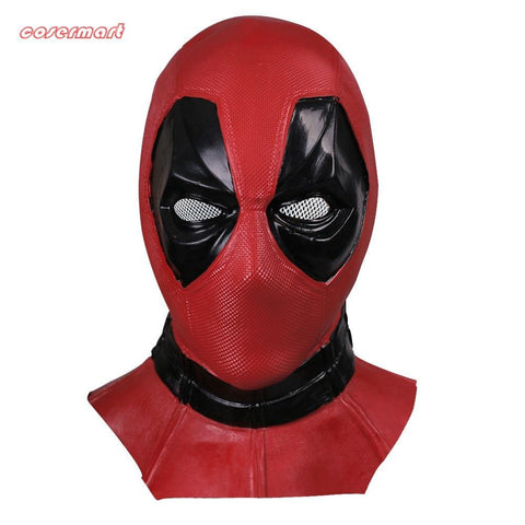 Deadpool Dead pool Taco New Marvel Superhero  Mask Breathable Latex  Full Face Mask Halloween Cosplay Prop AT_70_6