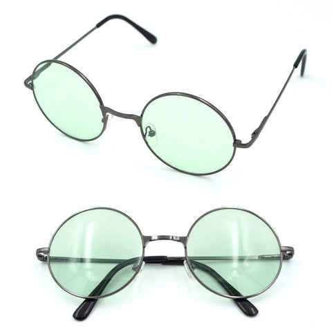 ed75df742bd Uinsex MultiColor Round Sunglasses Golden Frame Glasses Shades Hippie –  2018 AT 142 30 (Animetee.com Friends)