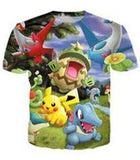 Jigglypuff Face T-Shirt Pokemon Characters t shirt Summer style fashion clothing tees tops women men plus size S-XXL - Animetee - 12