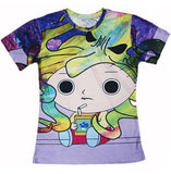 Jigglypuff Face T-Shirt Pokemon Characters t shirt Summer style fashion clothing tees tops women men plus size S-XXL - Animetee - 19