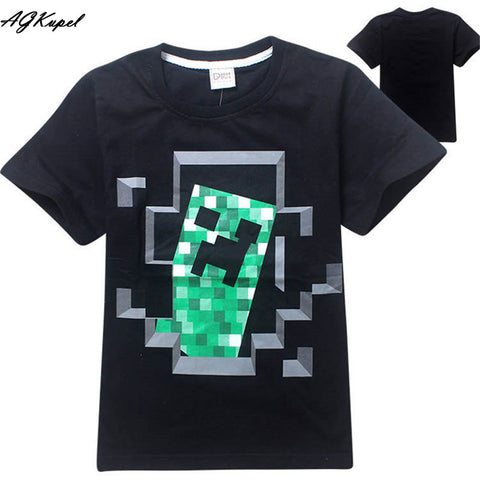 Freddy's Fazbear Pizza Minecraft Jurassic Park Childrens Kids Clothing tee t-shirt - Animetee - 8