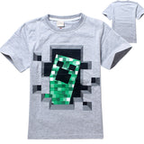 Freddy's Fazbear Pizza Minecraft Jurassic Park Childrens Kids Clothing tee t-shirt - Animetee - 13